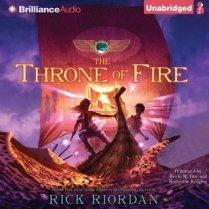 The Throne of Fire by Rick Riordan (Purchased)