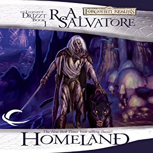 Homeland by R.A. Salvatore (Purchased)